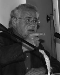 Pietro Montani in un momento della presentazione